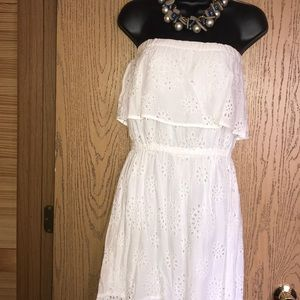 NWT Michael Kors Eyelet dress